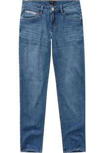 Calça Jeans Slim Malwee Azul Escuro - 56
