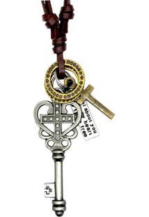Colar W.Buscatti Master Key Preto