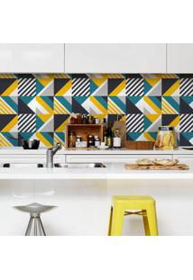 Adesivo De Azulejo Geometrico Sixties