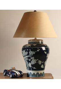 Abajur Decorativo De Porcelana Butrint