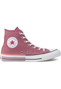 Tênis Converse All Star Chuck Taylor Hi Rosa Palido Ct14310003 - Tricae