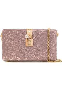 Dolce & Gabbana Bolsa Tiracolo 'Dolce Box' - Rosa