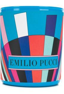 Emilio Pucci Vela Com Logo - Azul