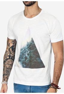 Camiseta Hermoso Compadre Fog Masculina - Masculino-Branco