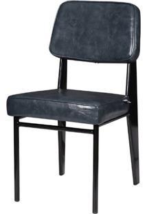Cadeira Jean Provve Estofada Cinza 81 Cm (Alt) - 47158 - Sun House