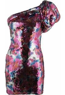 Isabel Marant Vestido Osira Com Aplicação De Paetês - Rosa