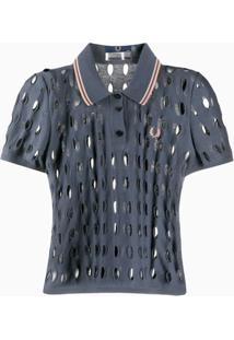 Fred Perry Camisa Polo - Azul