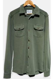 Camisa Moletom - Verde