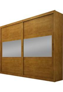 Guarda-Roupa Corcovado Top Com Espelho - 2 Portas - 100% Mdf - Imbuia