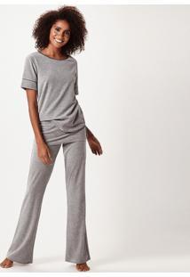Pijama Joge Longo Cinza