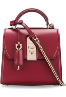Salvatore Ferragamo Boxyz Top Handle Bag - Vermelho