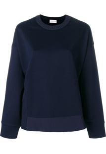 Moncler Blusa De Moletom - Azul