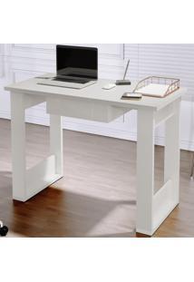 Escrivaninha Mesa Computador 6088 - Branco - Rpm Móveis