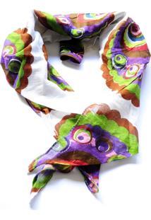 Lenço Atelier Chilaze Cashmere Multicolorido