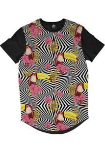 ... Camiseta Longline Bsc Padrões E Listras Tucanos Palmeiras Sublimada -  Masculino-Branco 44029b8f5d68a