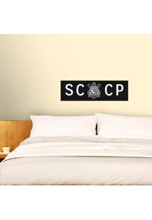 Corinthians - Adesivo De Parede Sccp Peb