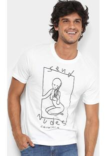 Camiseta Cavalera Nudes Masculina - Masculino