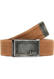 Cinto Lee Liso Bege