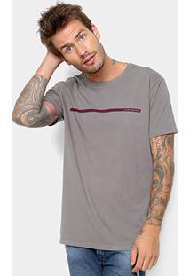 Camiseta Calvin Klein Estampa Básica Masculina - Masculino