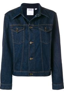 Calvin Klein Jeans Est. 1978 Jaqueta Jeans Oversized - Azul