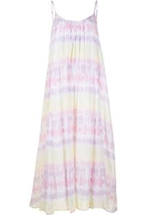 Olivia Rubin Vestido Tie-Dye De Algodão - Colorido