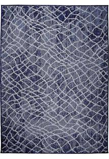 Tapete Sisal Clyde 02 - 0,50X1,00M - Edantex Azul - Azul - Dafiti
