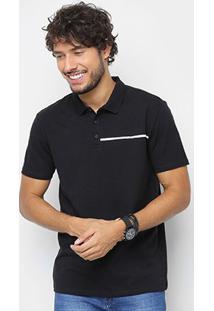 Camisa Polo Calvin Klein Logo Palito Masculina - Masculino
