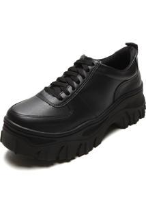 Tênis Santa Lolla Dad Sneaker Chunky Preto