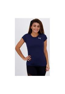 Camiseta Puma Active Feminina Marinho
