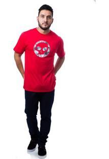 Camiseta Zero Eclipse Masculina - Masculino-Vermelho