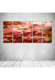 Quadro Decorativo - Pink426 - Composto De 5 Quadros