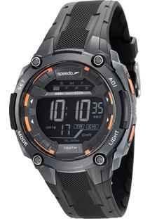 Kit De Relógio Digital Speedo Masculino + Carregador Portátil - 65095G0Evnp2K 9611117 Preto
