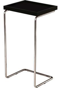 Mesa Lateral Apoio Para Braço De Sofa Laminado - Larflex