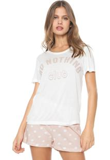 Short-Doll Hering Do Nothing Club Off-White/Rosa