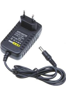 Fonte De Energia 12 Volts - 2 Ampéres (Real) - 2A - Para Fita Led, Câmeras E Muito Mais - Lms-Fe12V2A24W