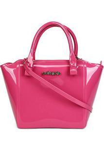 Bolsa Petite Jolie Shape Feminina - Feminino-Pink
