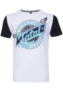 Camiseta Fatal Especial 15087 - Masculina - Branco/Preto