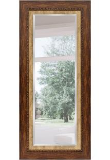 Espelho Decorativo Vimet 82X182 Cm Marrom