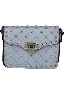 Bolsa Bag Dreams Tacia Com Spikes Azul Bebê