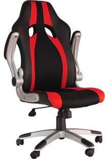Cadeira Office Gamer Speed-Rivatti - Preto / Vermelho