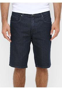 Bermuda Jeans Colcci Escura Reta Masculina - Masculino