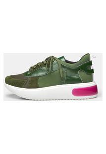 Sneaker S417 - Musgo 39 Verde