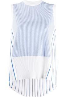 Thom Browne Regata Listrada Com Pregas - Azul