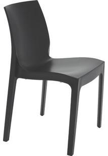 Cadeira Alice Satinada- Preta- 80,5X49,5X51,5Cm-Tramontina