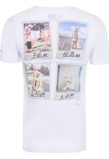 Camiseta Masculina Coelho - Branco