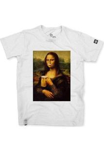 Camiseta Stoned Monabeer Masculina - Masculino-Branco