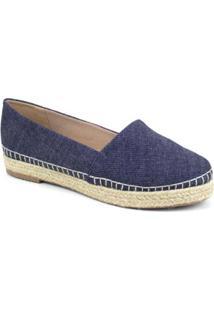 Alpargata Emporionaka Jeans Feminina - Feminino-Azul