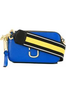Marc Jacobs Bolsa Snapshot Pequena - Azul