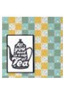 Papel De Parede Autocolante Rolo 0,58 X 3M - Azulejo Xicara Bule Café 286448789