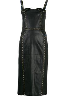 Versace Jeans Couture Vestido Donatella - Azul